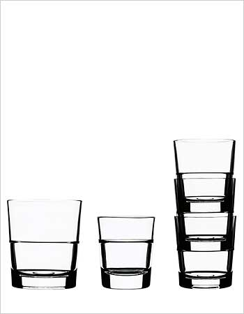 Iittala drinking glasses by Konstantin Grcic