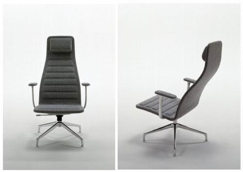 Cappellini lotus lounge chair by jasper morrison