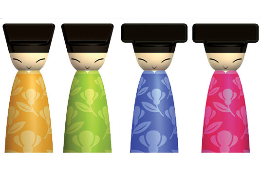 alessi-spring&summer 2007,THE CHIN FAMILY by Stefano Giovannoni with Rumiko Takeda