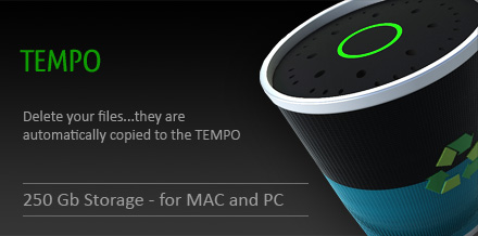 TEMPO Backing Up Your Trash