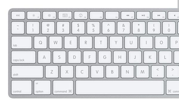 Apple new iMac keyboard