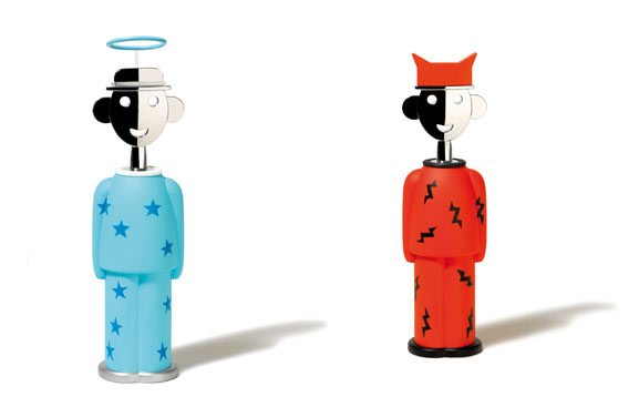 new Alessandro M. versions by Alessandro Mendini:alessi Fall/winter 2007