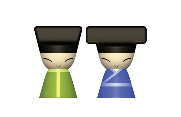 The Chin Family designed by Stefano Giovannoni with Rumiko Takeda:Alessi Fall/winter 2007 new product