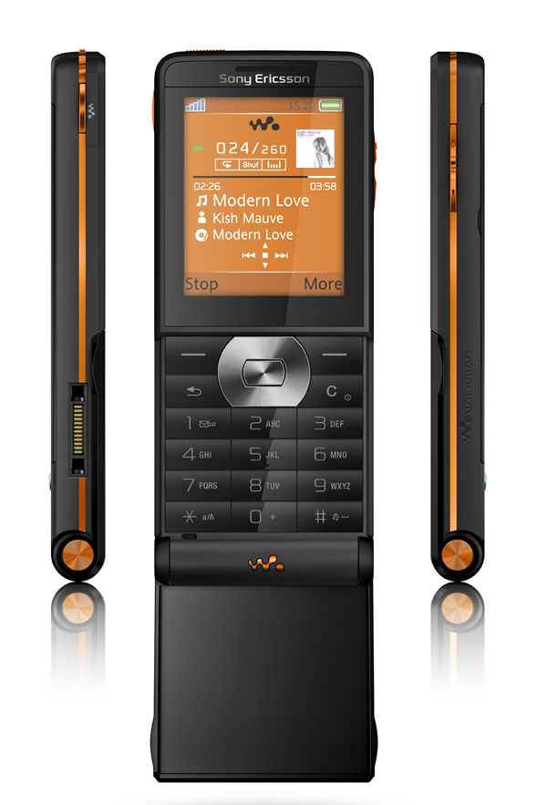 Sony Ericsson W350 on The Orange Website