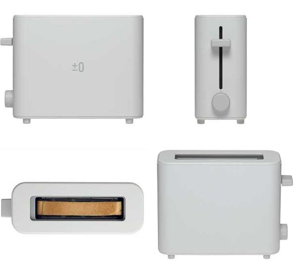 plusminuszero toaster