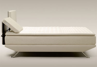 Eden bed, designed by NPK, manufactured by Jensen