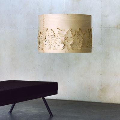 Norwegian Forest pendant lamp, designed by Cathrine Kullberg