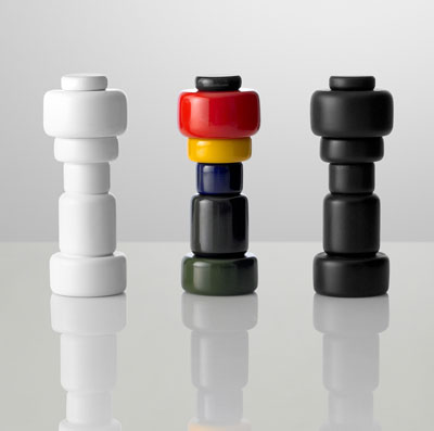 Plus salt & pepper mills, designed by Norway Says, manufactured by Muuto