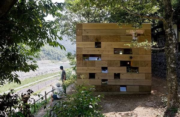 Final Wooden House by Sou Fujimoto
