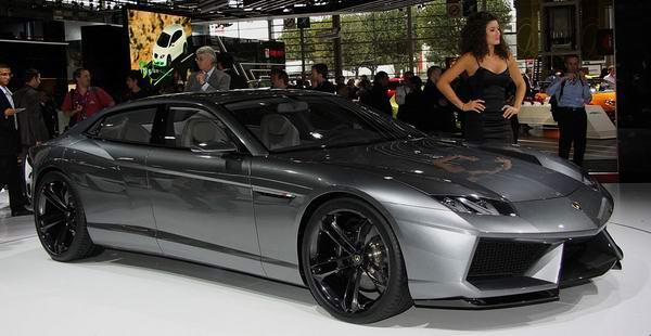 Lamborghini Estoque Concept,兰博基尼Estoque四门跑车