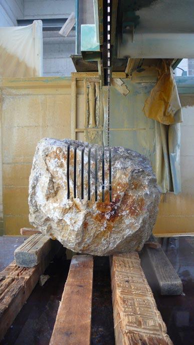 Max Lamb Rock Furniture at Johnson Trading Gallery