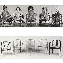 Hans J Wegner The China Chair inspiration
