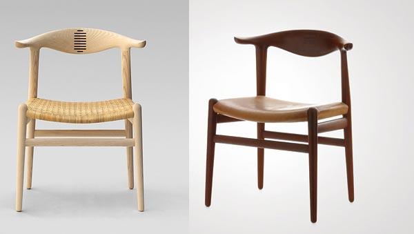Hans Wegner Cow Horn Chair