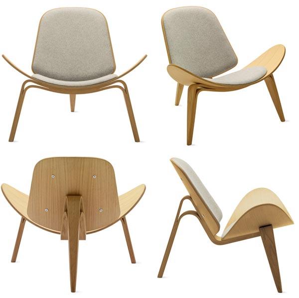 Hans Wegner The Three-Legged Shell Chair