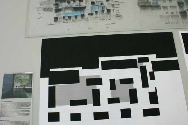 Peter Zumthor Thermal Baths Vals floorplan