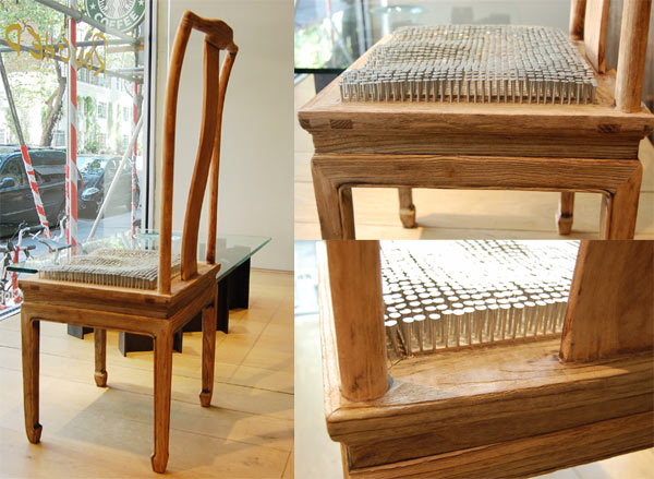 comfortable relations chinese chair
