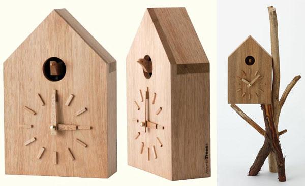 cuckoo clock by naoto fukasawa