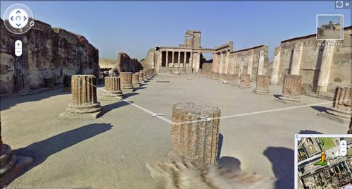 pompeii google maps