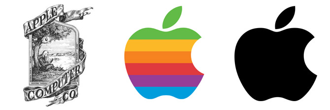 Apple Logo Evolution 201710