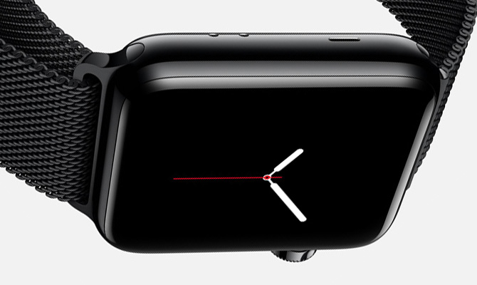 Apple Watch Space Black Stainless Steel