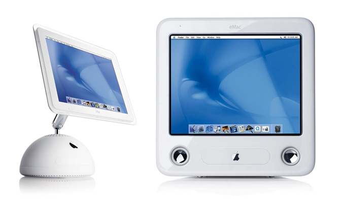 Apple iMac G4 and eMac Logo