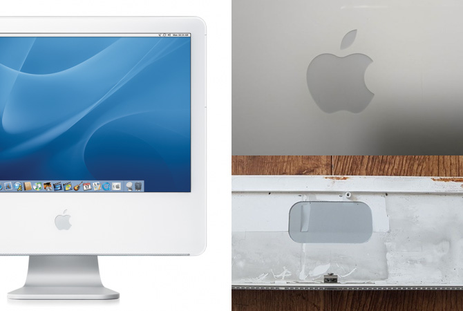 Apple iMac G5 Logo