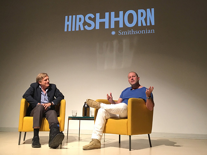 Jony Ive Hirshhorn Museum Interview