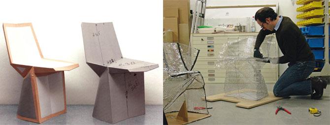 Konstantin Grcic Paper Prototype