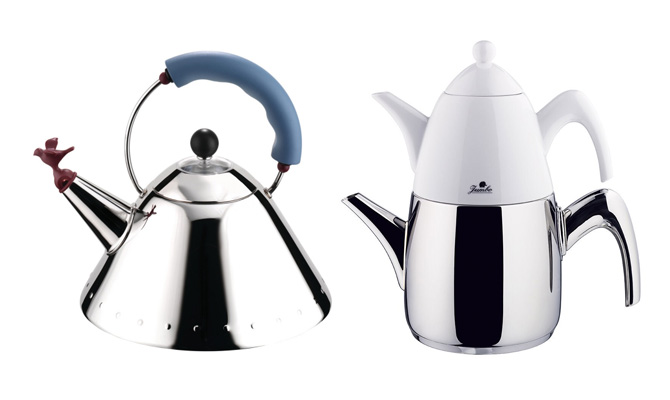 Michael Graves Kettle and Jumbo Kettle