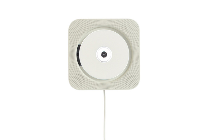 Muji Wall Mounted CD Player designed by Naoto Fukasawa