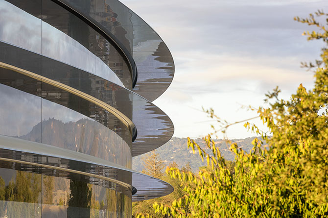 apple park photo
