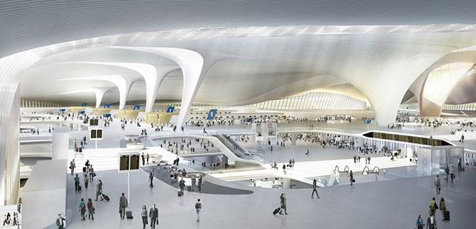 beijing daxing airport zaha hadid