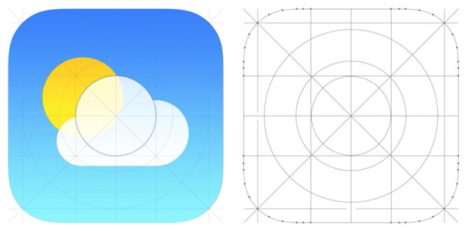 iOS 7 Rounded Corner Icon