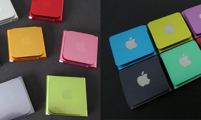 iPod nano and shuffle Logo