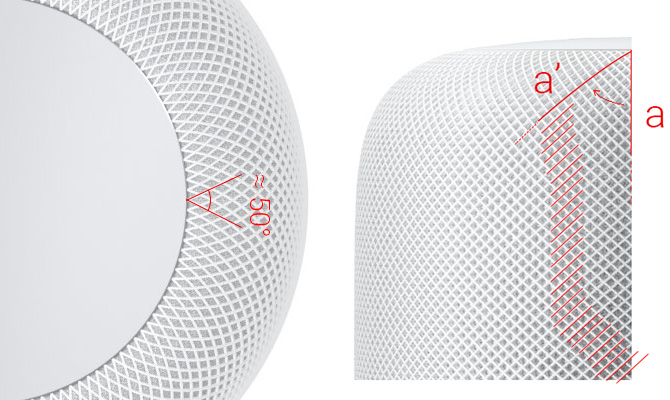 HomePod Mesh Drawing