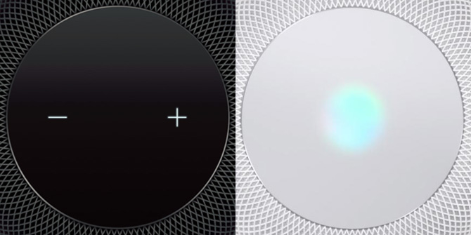 HomePod Top Touch Panel