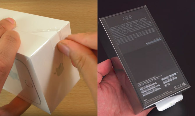 iPhone 6s and iPhone 7 Packaging Film